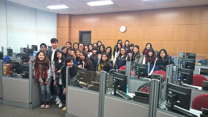 Staff and students from National Taipei University and the School of Translation