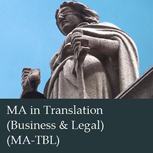 MA Translation (Business and Legal)
