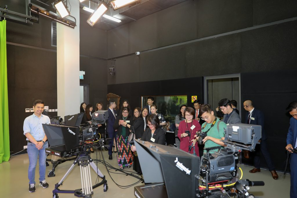 TV studio of School of Communication